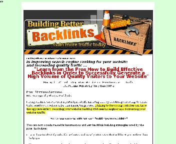 Building Better Backlinks Coupon Codes