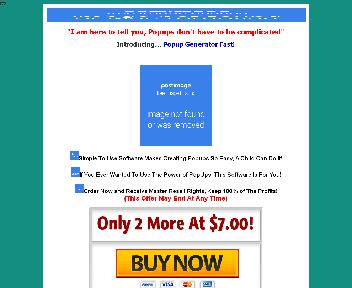 Pop-Up Generator Fast Coupon Codes