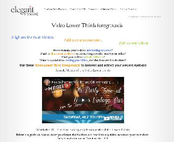 Video Lower thirds Coupon Codes