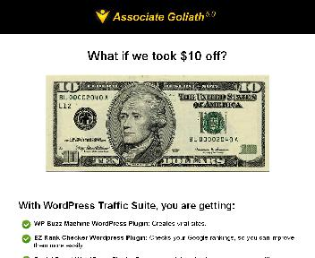 WordPress Traffic Suite Discount Coupon Codes