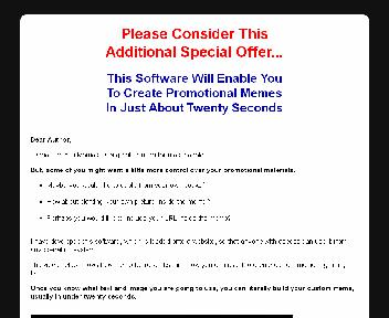Author Memes Creation Software Coupon Codes