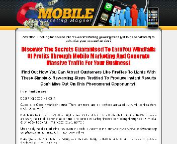 Mobile Marketing Magnet Coupon Codes