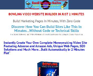 Bowling Video Site Builder Coupon Codes