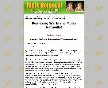 Mole Removal Coupon Codes