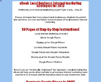 Local Business Internet Marketing Strategies for Coupon Codes