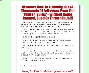 Twitter White Knight Coupon Codes