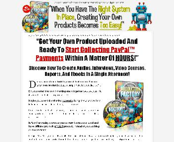 Product Production Factory Coupon Codes