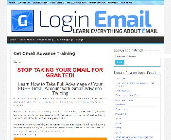 Gmail Advance Training Coupon Codes