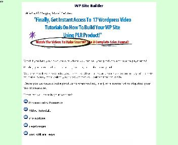 WP Site Builder Coupon Codes