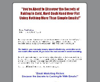 Email Marketing Riches Coupon Codes