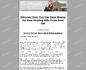 Winterizing Your Home Coupon Codes