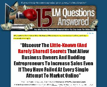 15 IM Questions Answered Coupon Codes