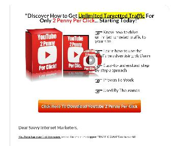 YOUTUBE 2 Penny Per Coupon Codes