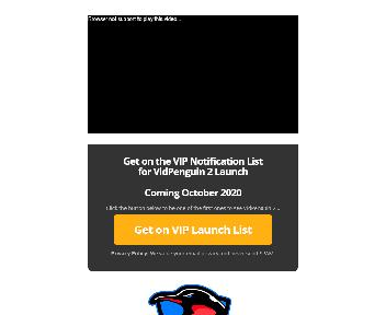 VidPenguin PRO 297 1-time payment Coupon Codes