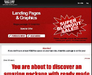 Landing pages and graphics blowout Coupon Codes