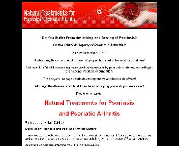 Natural Treatments for Psoriasis & Psoriatic Arthritis Coupon Codes
