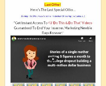 OTO IM Training Classes For Newbies Coupon Codes