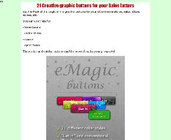 eMagic Buttons Coupon Codes