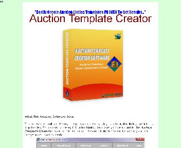 Auction Template Creator Comes with Master Resale Rights Coupon Codes