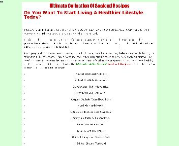 Ultimate Collection Of Seafood Recipes Coupon Codes