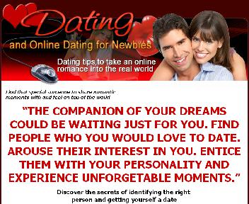 Online Dating for Newbie's discount code