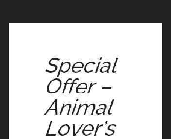 Animal Lovers Coupon Codes