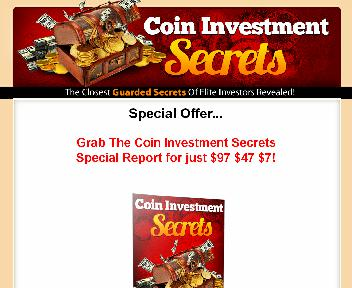 Coin Investment Secrets Coupon Codes