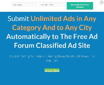 BackpageEasyAdSubmitter Financial Services Coupon Codes
