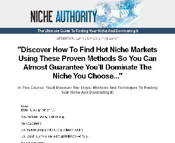 Niche Authority Coupon Codes