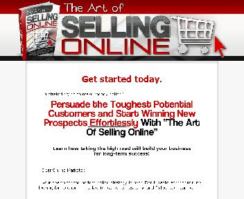 The Art of Selling Online discount code