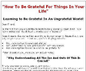 Being Grateful Coupon Codes