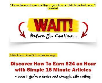 15 Minute Articles Coupon Codes