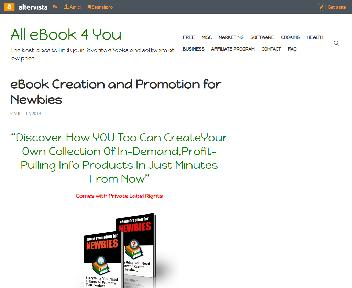 eBook Creation and Promotion for Newbies Coupon Codes