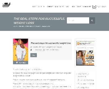 Online Course: The real steps for successful weight loss Coupon Codes
