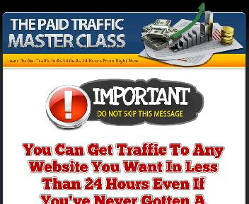 Paid Traffic Master Class Coupon Codes