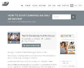 Online Course: Start Earning An Online Income Coupon Codes