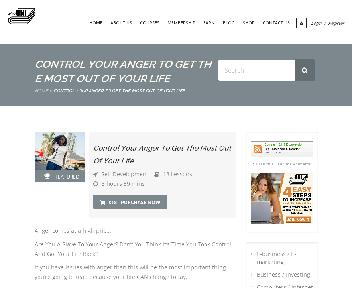 Online Course: Control Your Anger To Get The Most Out Of Your Life Coupon Codes