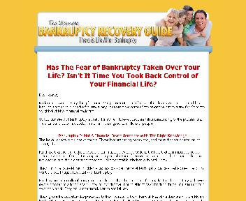 Bankruptcy Recovery Coupon Codes