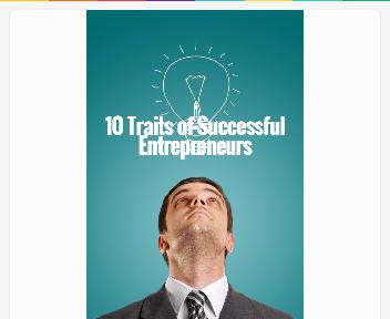 10 Traits of Successful Entrepreneurs Coupon Codes