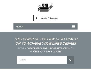 Online Course: The Power Of The Law Of Attraction Coupon Codes
