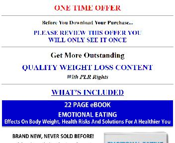 Quality Giant Permanent Weight Loss PLR Coupon Codes