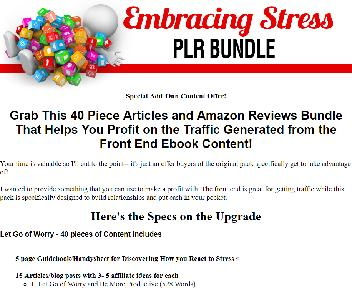 Let Go Of Worry PLR Coupon Codes