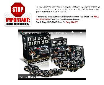 Distraction Diffuser Sales Video Coupon Codes