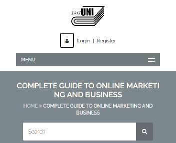 Online Course: Complete Guide To Online Marketing And Business Coupon Codes