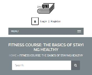 Online Course:The Basics Of Staying Healthy Coupon Codes