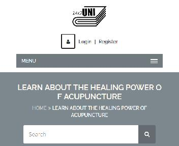 Online Course:The Healing Power Of Acupuncture Coupon Codes
