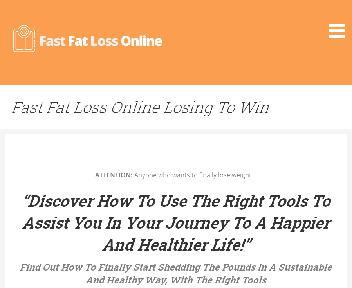 Fast Fat Loss Online Lose to Win Coupon Codes