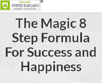 The Magic 8 Step Formula To Success, Happiness & Fulfilment Coupon Codes