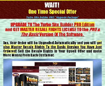 Turbo Site Builder Coupon Codes