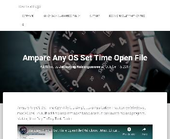 Ampare Any OS Set Time Open File Coupon Codes